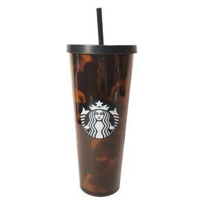 NEW Starbucks Tortoise Shell Venti Tumbler 24oz